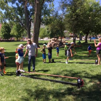 Colorado Academy Summer Camp lawn games